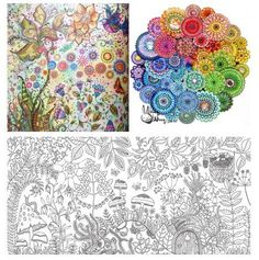How Fun Is This!? This Artist Is Creating Amazingly Gorgeous Coloring Books - For Adults!!
