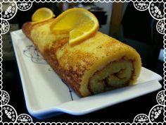 Orange Roll. Torta de Laranja.
