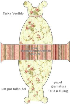 Kit para Festas - Vintage Floral