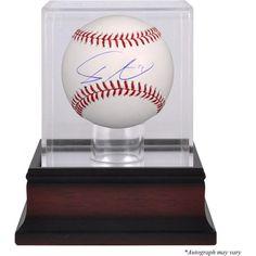 Yu Darvish Chicago Cubs Autographed Baseball and Mahogany Baseball Display Case    #ChicagoCubs  #Cubs  #MLB  #FlyTheW  #YuDarvish