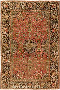 """Antique Sivas Oriental Rug Size: 6' 8"""" x 9' 8"""""""