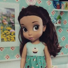 Belle in a cupcake dress | Disney Animator Doll