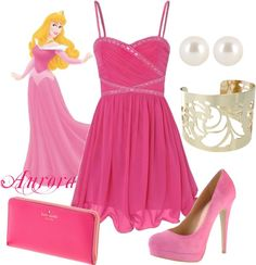 """Aurora Disney Princess Prom Outfit"" by natihasi on Polyvore"