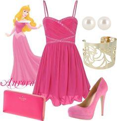 """Aurora Disney Princess Prom Outfit"" by natihasi on Polyvore"