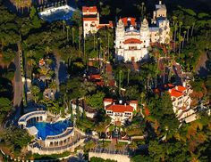 Although the Hearst Castle in California lacks the history and royal affiliation of other on this list, the palatial estate built by William Randolph Hearst in 1947 epitomizes glamour and continually draws visitors to its 165 rooms.   - HouseBeautiful.com