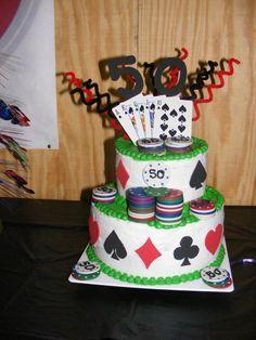 Poker cake for bday 80th Birthday, Birthday Parties, Poker Cake, Cupcake Cakes, Cupcakes, Dessert Recipes, Desserts, Cake Decorating, Baking