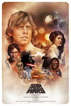 Star Wars: Episode IV - A New Hope / Star Wars: Episode IV - Eine neue Hoffnung / Krieg der Sterne