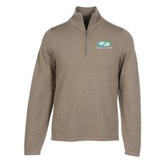 Cotton Blend 1/4 Zip Sweater (Item No. 133135-M-QZ) from only $25.50 ready to be imprinted by 4imprint Promotional Products