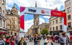 Willkommen beim jährlichen #Fringe #Festival in #Edinburgh © shutterstock