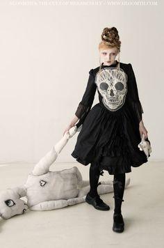 Robe gothique Gloomth Robe du Crâne