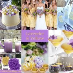 Color Scheme-Lavender, Canary, and Gold