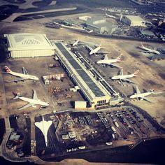 British Airways A380, A330, B747 & B777 - LHR