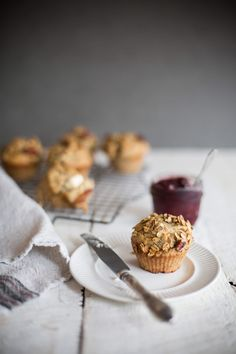 Banana and Granola muffins Recipe with Oatbox granola