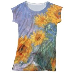 The Met Store - Monet Sunflowers Slim Fit Top