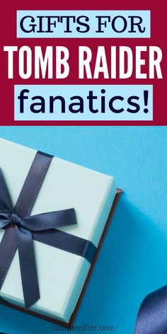 We have the ultimate list of the Best Gift Ideas for Tomb Raider Fans. Anyone who loves Tomb Raider is going to enjoy these presents! Presents For Men, Gifts For Boss, Gifts For Mum, Love Gifts, Best Gifts, Birthday Gifts For Boys, Dad Birthday, Raiders Gifts, Creative Gifts