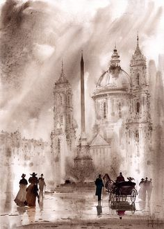 Roma Print By Svetlana And Sabir Gadghievs