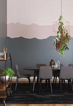 Combinação de rosa e cinza é elegante e suave