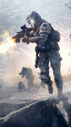 Since honestly I think the IMC are jerks in Titanfall, I would probably be a soldier on the Militia.