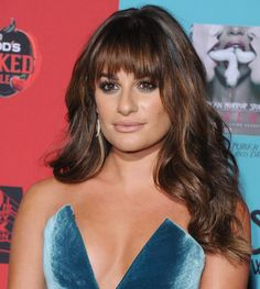 Lea Michele's Long Lashes At 'American Horror Story' Premiere