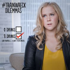 After four it's impossible to keep count. #Trainwreck: in theaters July 17, 2015.