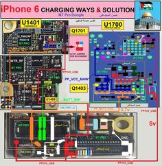 iPhone 6 Charging Problem Solution Jumper Ways If both of the above solution can not solve charging issue mother board Iphone Gadgets, Iphone Hacks, Iphone 7, Iphone Repair, Mobile Phone Repair, Iphone 6 Backlight, Iphone 6 Plus Display, Iphone Secret Codes, Iphone Price