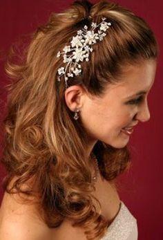 wedding hair styles combs