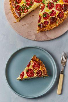 Sós túrós pite recept | Street Kitchen Pepperoni, Vegetable Pizza, Vegetarian Recipes, Vegetables, Essen, Vegetable Recipes, Veggies, Vegetable Dip Recipes