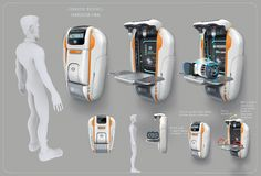 Ideas Medical Robot Concept Art For 2019 Digital Art Photography, Photography Website, Subnautica Concept Art, Medical Robots, Medical Art, Cyberpunk, Animal Art Projects, Canvas Art Quotes, Sci Fi Environment