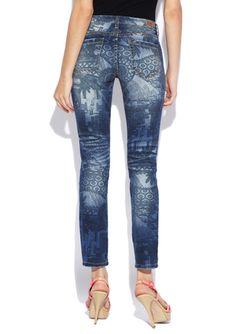 BLANK NYC Printed Jean