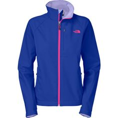 The North Face built the Women's Apex Bionic Jacket with stretchy Apex Climateblock for total protection from cold, windy weather. In addition to blocking out the wind, the Apex Bionic is highly water resistant and breathable, making it great for hiking, XC skiing, or cold-weather runs. The jacket's soft-brushed fleece lining imparts some extra coziness, and internal stretch comfort cuffs keep drafts from snaking up your arms. Looks great, feels great, does the job. What more could you ask…