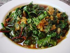 Curried Kale with Caramelized Shallots. #AndersonEatsKale