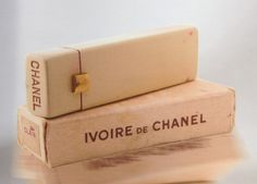 """Chanel """"Ivoire"""" Lipstick, 1930 - from the book """"Lips of Luxury"""" by Jean-Marie Martin-Hattemberg"""