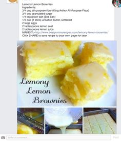 For all lemon lovers this looks really good