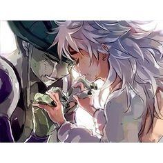 Meruem and Komugi :)        ~Hunter X Hunter