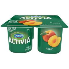 Buy Dannon Peach Yogurt oz) online and have it delivered to your door in as fast as 1 hour. Activia Yogurt, Probiotic Yogurt, Low Fat Yogurt, Milk Protein, Balanced Diet, Natural Flavors, Yummy Snacks, My Favorite Food, Dog Food Recipes