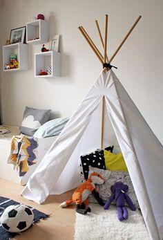 DIY: Tiipii-teltta | Fantastic Playroom Tutorial
