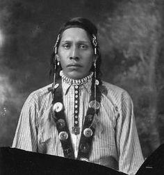 Tom Daly (Awai'naamahka), Blood/Kainai - 1913.