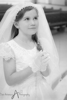 Dani Antonucci Photography  B & W   First Communion