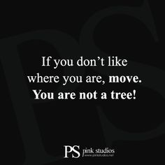 This quote couldn't have more truth to it. In order to get what we have we must move towards that direction. Our dream job, money, love… they are not just going to knock on your door. You must get out, move, and get it! #quotes #wordsandsayings