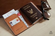 Morph Leather Passport cover by MORPHLeather on Etsy