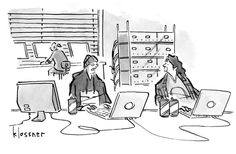 Strategic Humor: Cartoons from the October 2014 Issue Cartoon Caption Contest, Harvard Business Review, October 2014, Just For Fun, Humor, Cartoons, Memes, Retail, Group