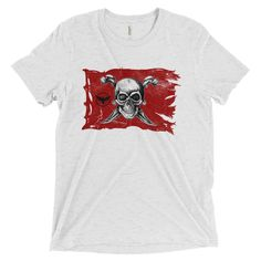 Men's Jolly Roger - Caribs Sea - S/S Triblend (multiple colors)