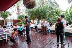 Ambiente de Visiónica en la terraza de EL HOTEL pacha, Ibiza