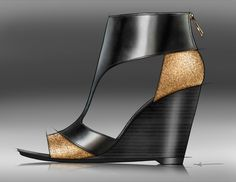 FOOTWEAR by Ariel Wickham Earnhardt, via Behance