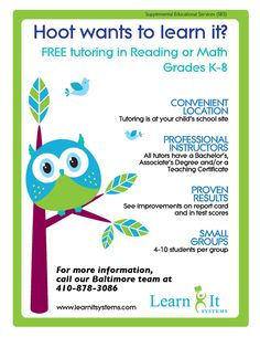 Tutoring Flyer Template Free from i.pinimg.com