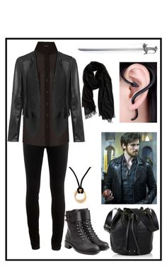 """Killian Hook's Girlfriend (Storybrooke)"" by boybands-and-wristbands on Polyvore featuring rag & bone, New Look, Nordstrom, Philosophy di Lorenzo Serafini, Vivienne Westwood, Cartier and Once Upon a Time"