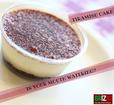 Looking for a cake that is ideal for celebrations? This version of Tiramisu cake is elegant, generous and very sweet!! A must try!! #BrizioPizza #TiramisuCake #panstylepizza #glutenfreecrustpizza #thincrustpizza #buffalowings #garlicbread