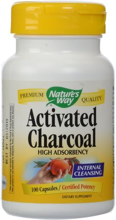 Nature's Way Activated Charcoal Supplement, Gluten-Free, 100 Capsules (Packaging May Vary) Healthy Brain, Healthy Tips, Healthy Weight, Activated Charcoal Capsules, Reducing Cortisol Levels, Thing 1, Natural Health, Just In Case, Recipes