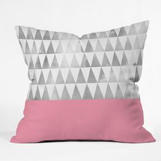 Found it at AllModern - Georgiana Paraschiv Triangles Throw Pillow