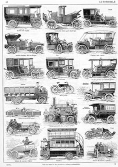 automobile by janwil Vintage Prints, Vintage Ads, Carl Benz, Automobile, Old Classic Cars, Car Posters, Car Advertising, Old Trucks, Old Cars